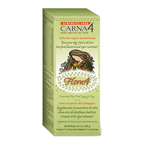 Carna4® Flora4 Sprouted Seed Food Topper - Biosense Clinic