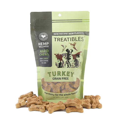 Large Turkey Grain Free Chews 4mg - Biosense Clinic