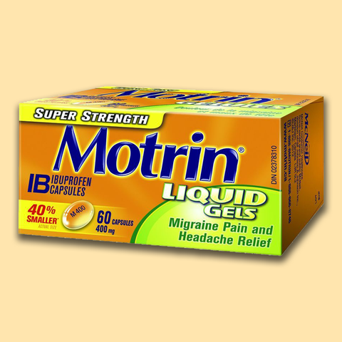 Motrin Ib Liquid Gels - Super Strength