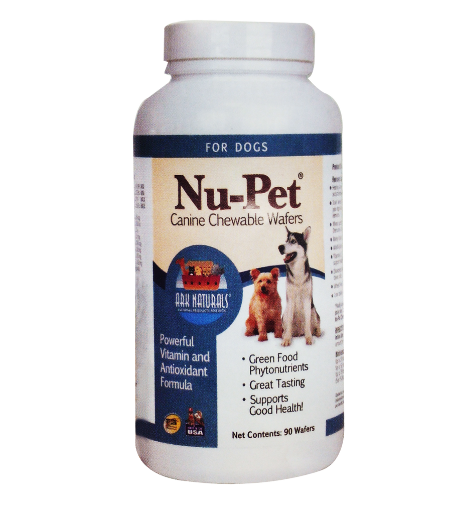 Ark Naturals Nu-Pet Canine Chewable Wafers - Biosense Clinic