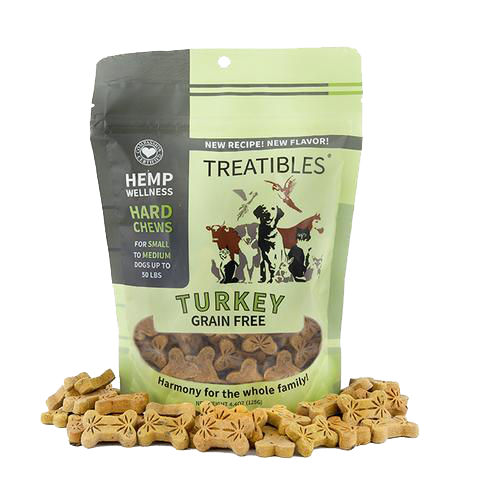 Small Turkey Grain Free Chews 1mg