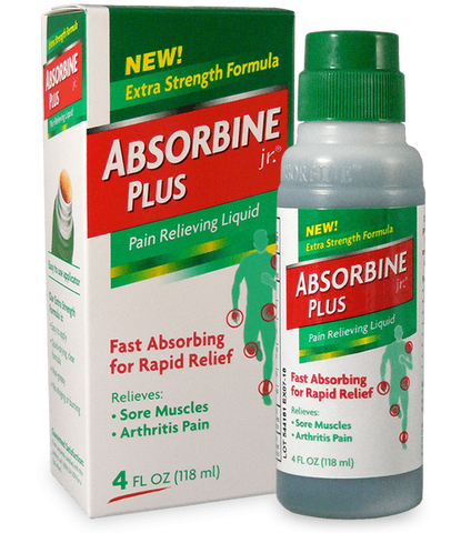 Absorbine Liniment Jr - Biosense Clinic