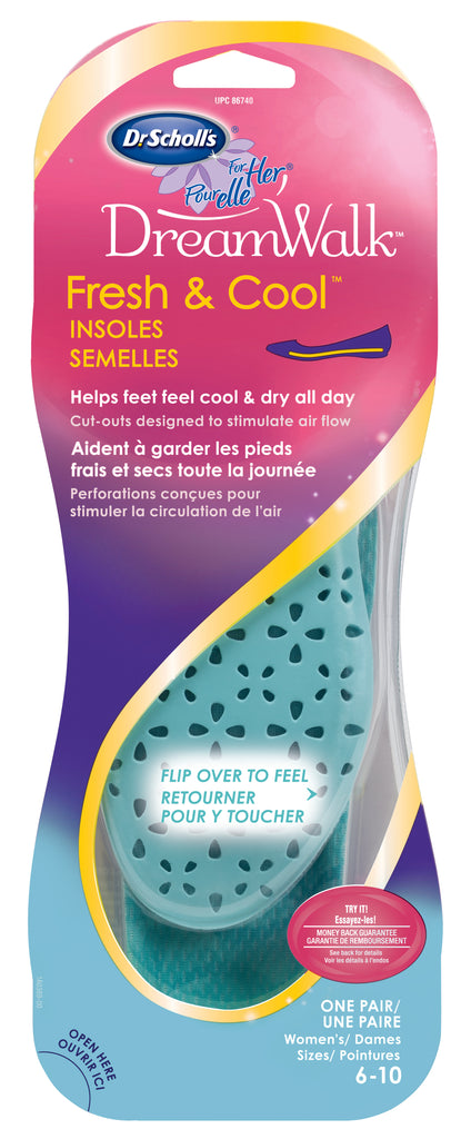 Dr.Scholl's For Her Fresh&cool Insoles 1s - Biosense Clinic