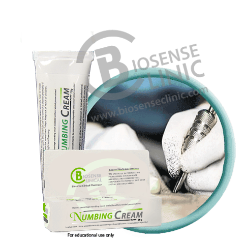 Biosense Clinical Numbing Cream 15g at Biosense Clinic