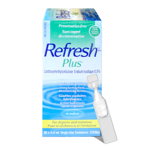 REFRESH PLUS 0.5% EYE DROPS - Biosense Clinic