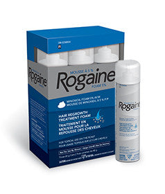 ROGAINE® 5% Minoxidil Foam for Men - Biosense Clinic