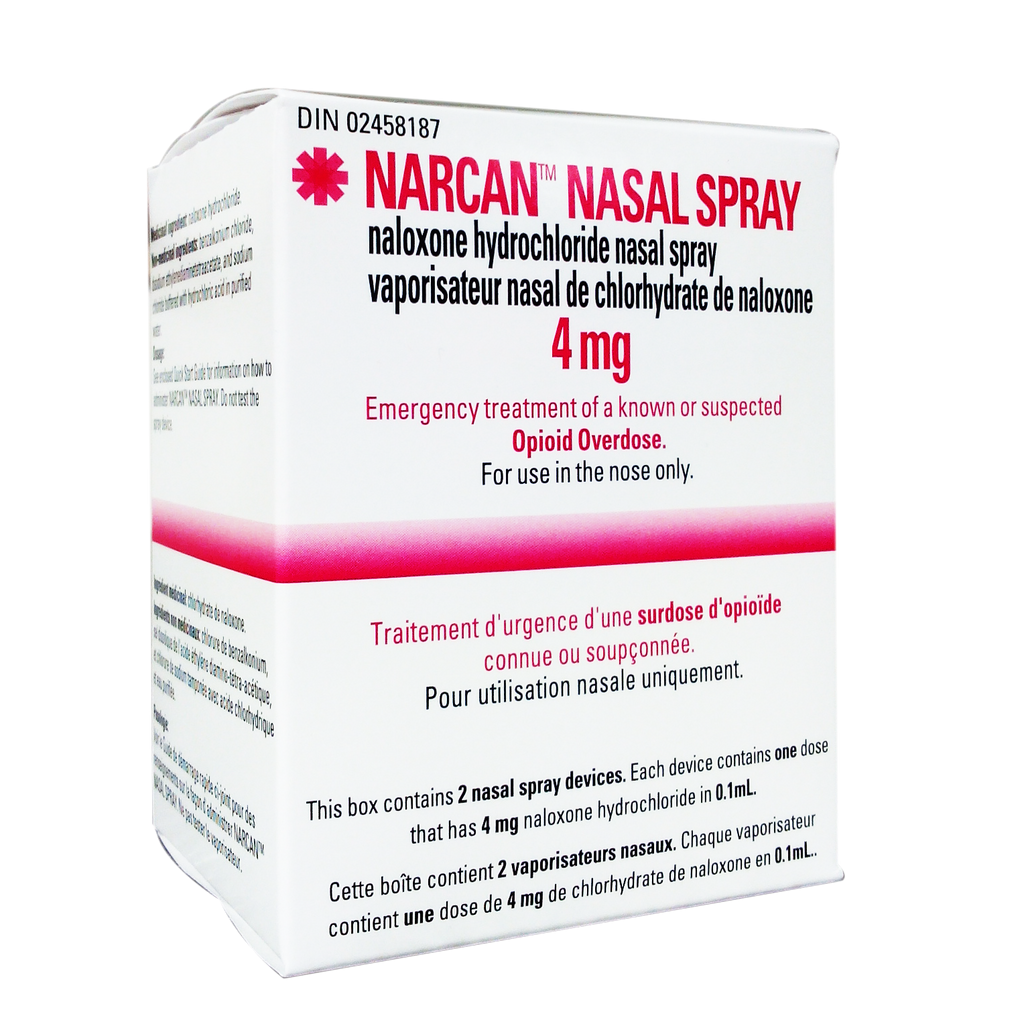 Narcan Nasal Spray 4 mg (2 units) - Biosense Clinic