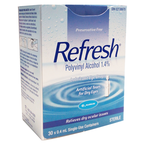 Refresh Lubricant Eye Drops - Biosense Clinic