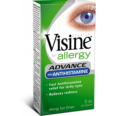 Visine Advance with Antihistamine Allergy - Biosense Clinic