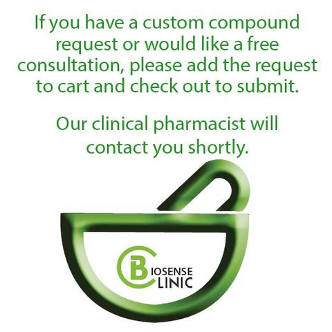 Biosense Clinic Custom Compound Request - Biosense Clinic