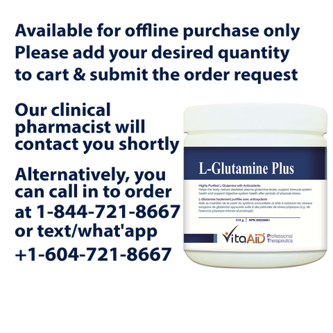 VitaAid L-Glutamine Plus - Biosense Clinic