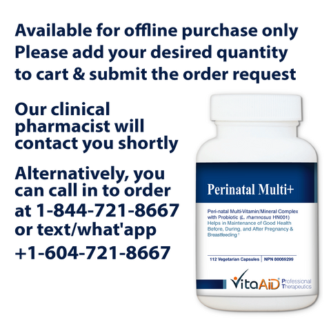 VitaAid Perinatal Multi+ - Biosense Clinic