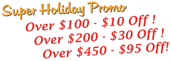 Special holiday promo