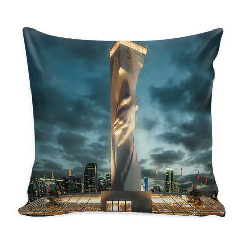 Statue of Responsibility Throw Pillow Cover