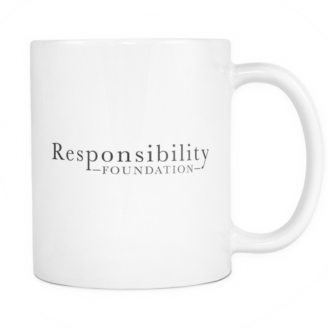 Responsibility Foundation Mug - White