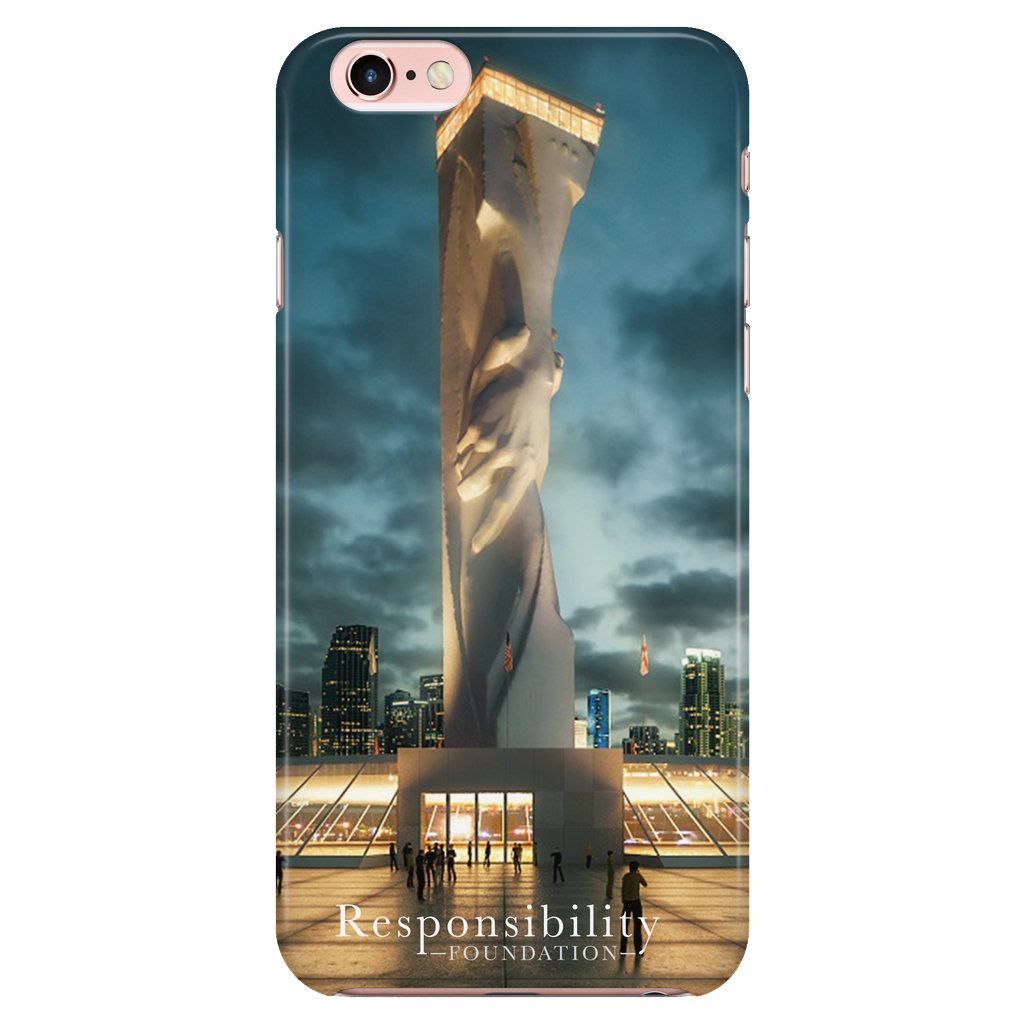 Statue of Responsibility iPhone 6 / 6s Case
