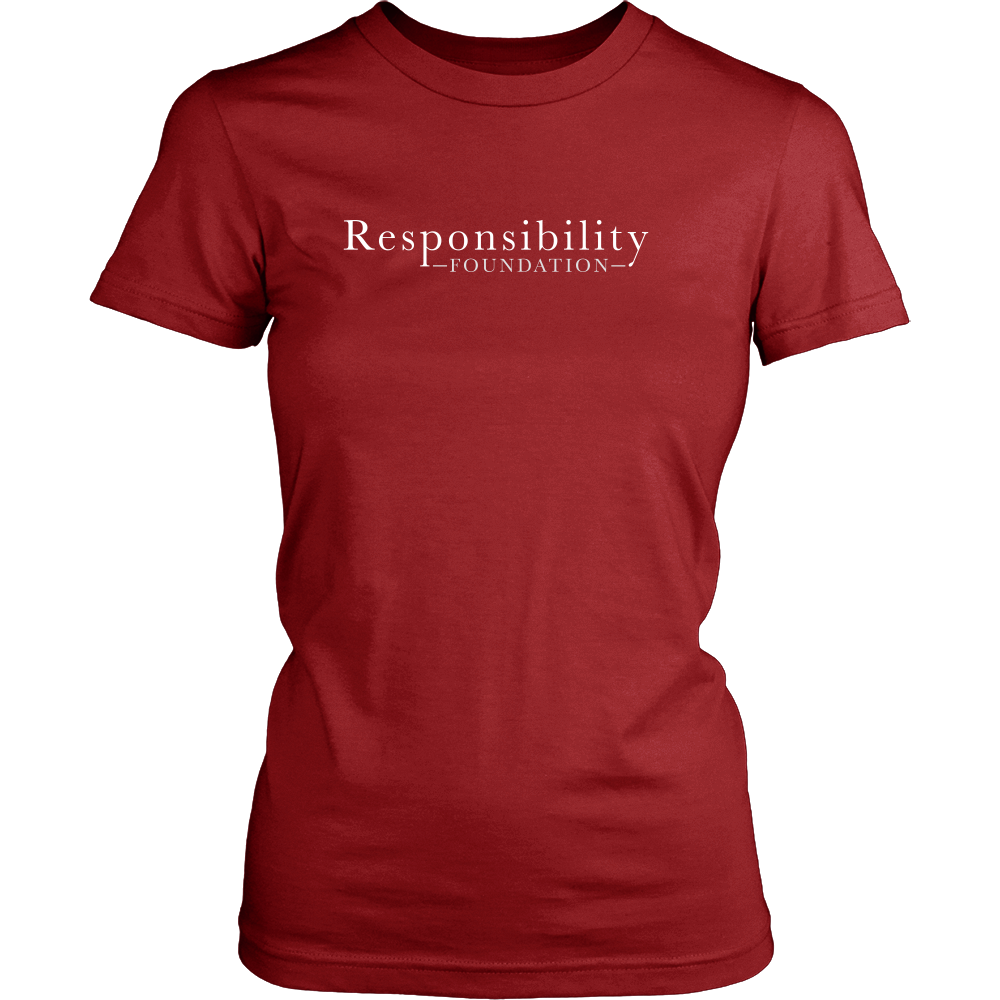 """I Am Response-Able"" Womens T-Shirt"