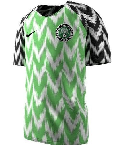 best authentic 7c6eb 66337 Nigeria National Team 2018 Home Jersey