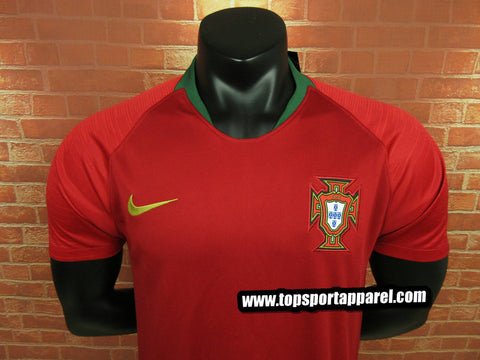 huge selection of 21ac6 e18ff Portugal National Team 2018 Home Jersey