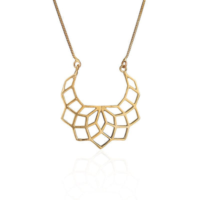 Mumbay Memory pure brass necklace