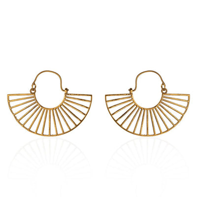 19 Bridges pure brass earrings
