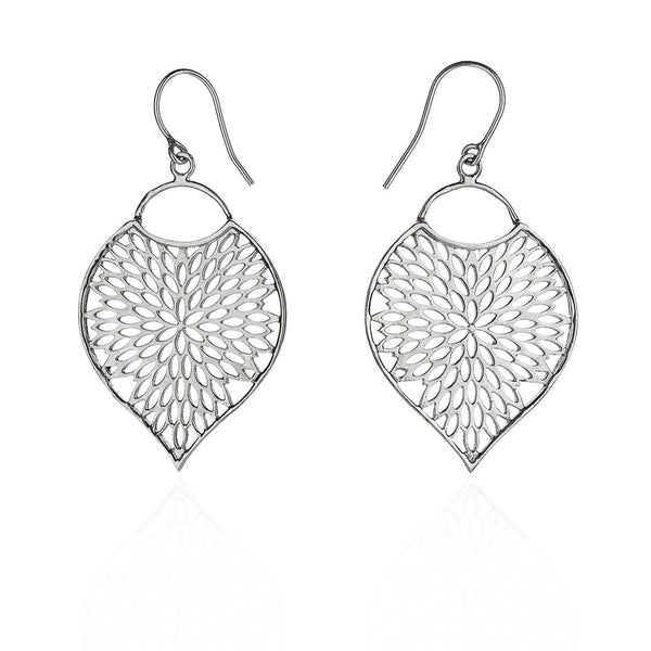 Bengali sterling silver earring