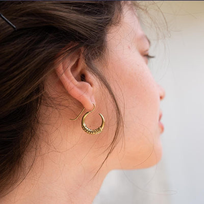 𝗺𝗶𝗻𝗶 Naga Earrings