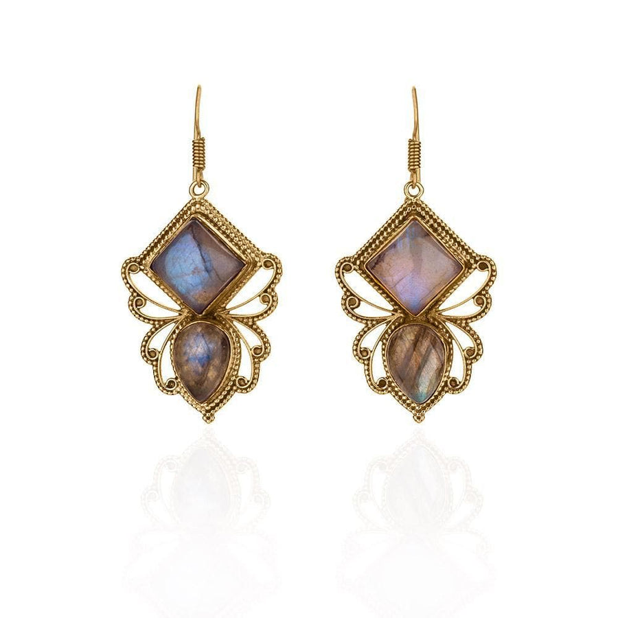 Crystal Bees Earrings