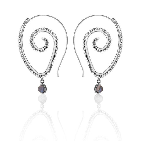 Eternal Spiral Earrings