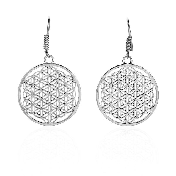 Flower of Life Earring