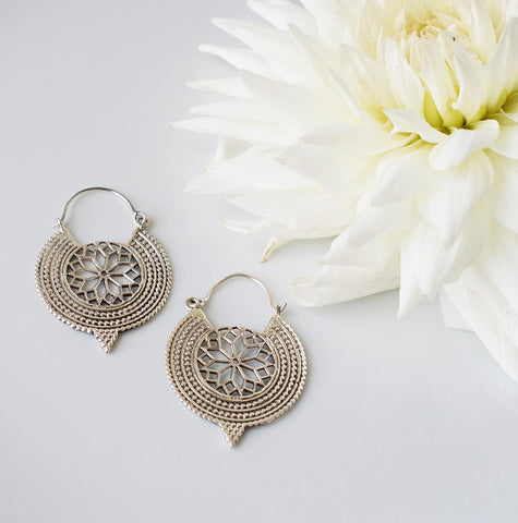 Makhana Earrings