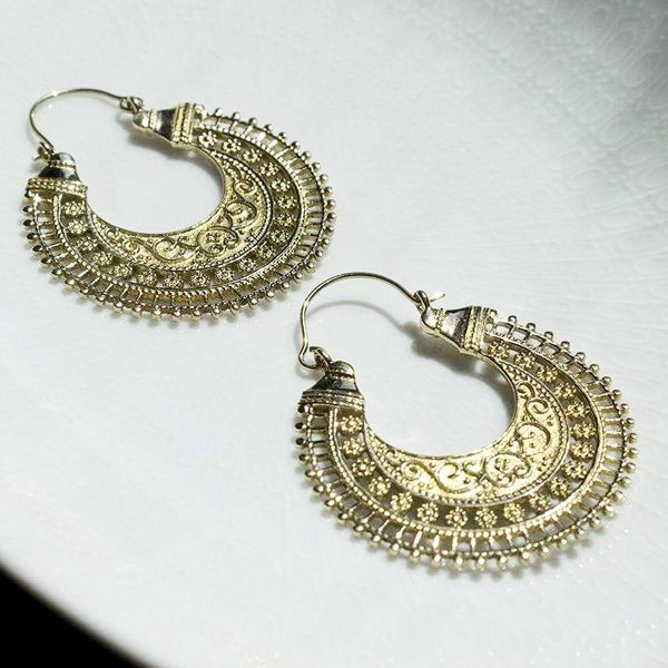 Golden Vines Earrings