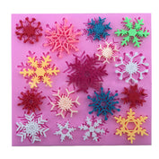 Snowflakes Decorating Silicone Mold - 50% OFF!