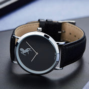Slick Luxury Black Horse Watches - My Passion Street