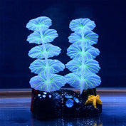 Luminous Lotus Leaf Tank Ornament