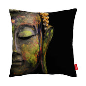 Black Buddha Pillow Case