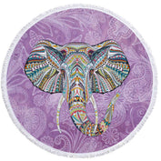 Watercolor Elephant Tassel Tapestry - My Passion Street