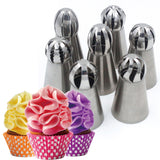 56pcs Russian Decorating Piping Tips - 50% OFF