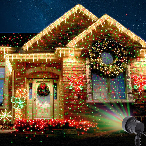 Christmas Star Shower Laser Lights - 50% OFF TODAY