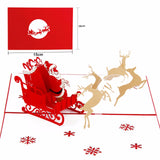 3D Christmas Greeting Cards