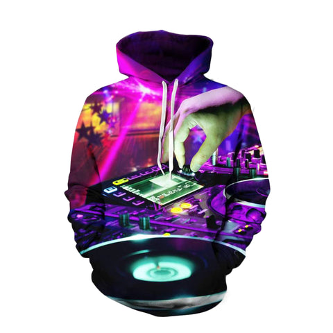 3D DJ Music Hoodies- 50% OFF