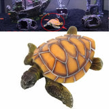 Artificial Resin Turtle Tank Ornament - My Passion Street
