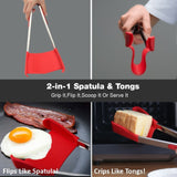 2-in-1 Heat Resistant Spatula Tongs - 50% OFF - My Passion Street