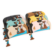 Cute Dog Cartoon Leather Wallet - My Passion Street