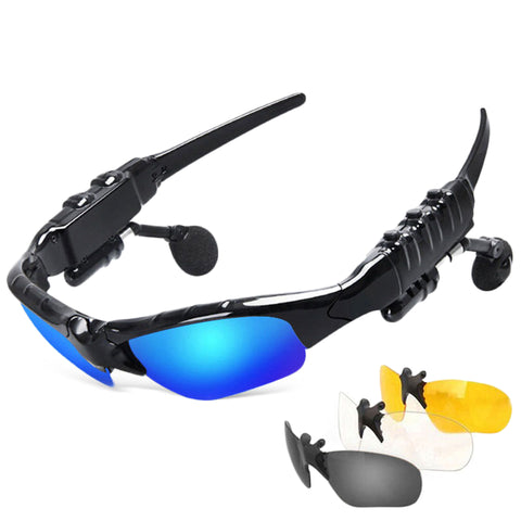 Smart Bluetooth Earphone Sunglasses- 50% OFF