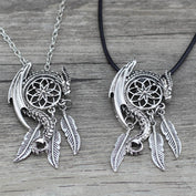 Dragon Viking Dream Catcher Necklaces - My Passion Street