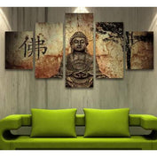 Zen Buddha Wall Canvas Art - My Passion Street