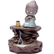 Buddha Porcelain Incense Burner - My Passion Street