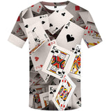 3D Poker Cards T-Shirt - 50% OFF