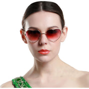 Heart Shaped Fashion Sunglasses - 50% OFF TODAY - My Passion Street